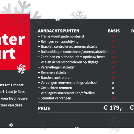 Bike Center Woerden Winterbeurt Popup