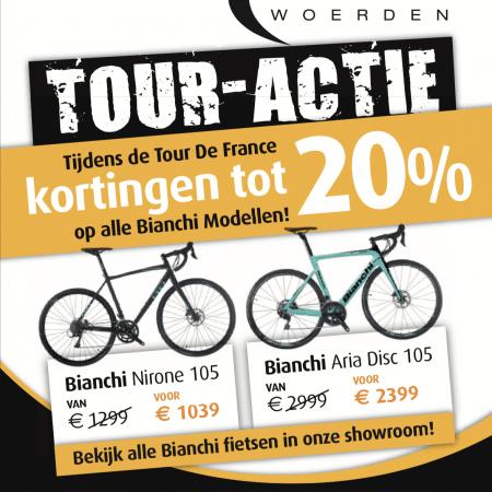 Bianchi tour actie